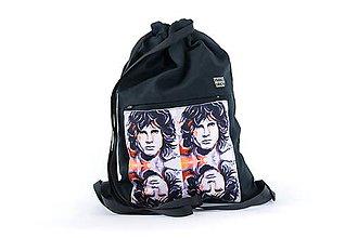 Batohy - Vak Jim Morrison black - 9213510_