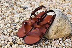 Obuv - Kožené sandále Gallia - 9212105_