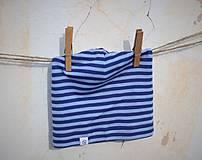Detské čiapky - Detská celoročná merino čiapka modrý šmolko - 9211953_