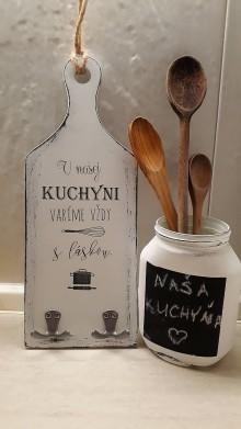 Dekorácie - Lopárik-v našej kuchyni - 9210682_