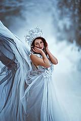 Ozdoby do vlasov - Ľadová koruna - 9215161_