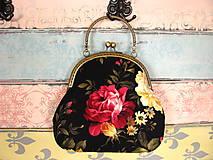 Kabelky - Kabelka Malířovy růže - 9212603_