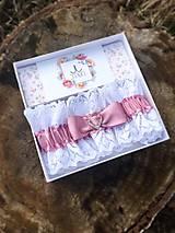 Bielizeň/Plavky - Luxusný svadobný podväzok - 9212281_