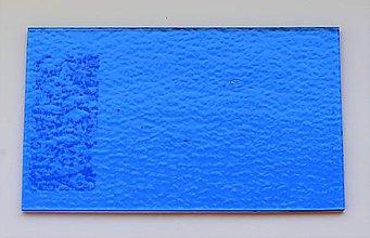 Suroviny - Sklo svetlo modré, priehľadné, zn. Bullseye - 9216197_