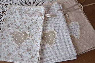 Úžitkový textil - Bavlnené vrecúška - 9217391_