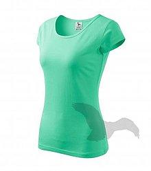 Textil - Dámske tričko ADLER Pure (122), veľkosť L, mätová - 9216228_