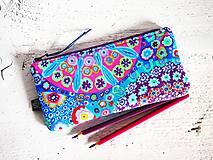 Peračník - hippie modrý