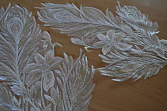 Textil - Zlato-púdrová aplikácia - 9217026_