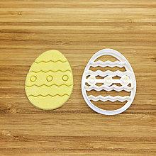 Pomôcky - vykrajovačka veľkonočné vajce so vzorom - 9216537_