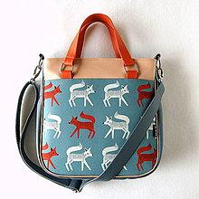 Veľké tašky - Big Sandy - S líškami - 9216389_