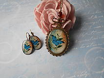 Sady šperkov - Blue butterfly - 9217714_