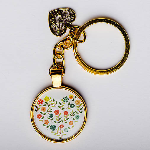 Kľúčenka (Srdce)   VEMstyle - SAShE.sk - Handmade Kľúčenky 64338b94c6a