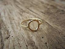 """Prstene - Prstienok """"krúžok"""" zlatý - 9215946_"""