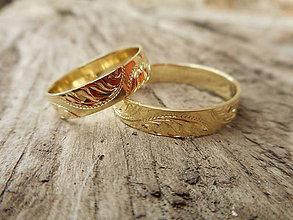 Prstene - Gravírované obrúčky - 9217213_