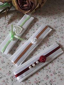 Darčeky pre svadobčanov -