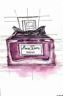 Kresby - MISS DIOR parfém - 9219529_