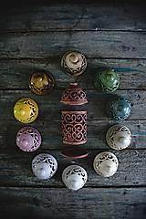 Svietidlá a sviečky - Aromalampa hnědá - 9218318_