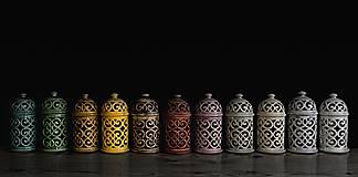 Svietidlá a sviečky - Aromalampa hnědá - 9218319_