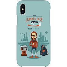 Na mobil - Kryt s motívom Hipster Jack pre Apple, Huawei, Samsung - 9217527_