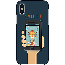 Na mobil - Kryt s motívom Hipster smile pre Apple, Huawei a Samsung - 9217681_