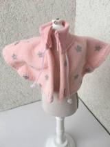 - Pelerína pre bábiku- 25-27 cm - 9219237_