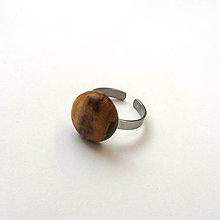 Prstene - Špaltovaný javorový vypuklý - 9216319_