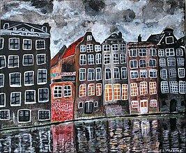 Obrazy - Amsterdam 30x25 cm - 9216726_