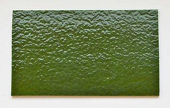 Suroviny - Sklo zelené, opálové, zn. Bullseye - 9220024_
