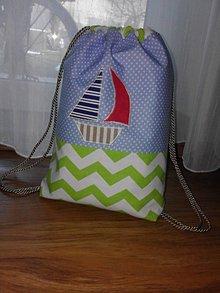 Detské tašky - Námornícky vak - 9221822_