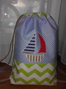 Detské tašky - Námornícky vak - 9221872_