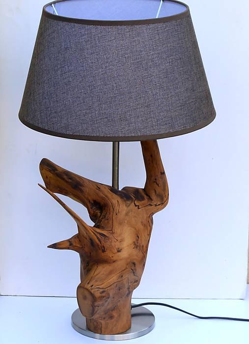 Stolová lampa - agát