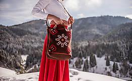 Veľké tašky - Vyšívaná taška Poľana - 9220002_