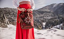 Veľké tašky - Vyšívaná taška Poľana - 9220004_