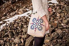 Veľké tašky - Vyšívaná taška Jasna - 9220019_