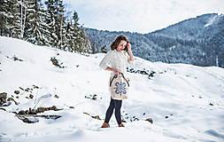 Veľké tašky - Vyšívaná taška Jasna - 9220020_