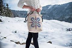 Veľké tašky - Vyšívaná taška Jasna - 9220022_