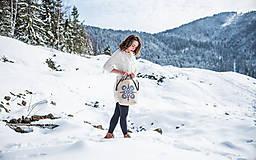 Veľké tašky - Vyšívaná taška Jasna - 9220023_