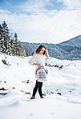 Veľké tašky - Vyšívaná taška Jasna - 9220025_