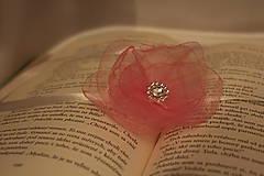 Svadobný náramok pre družičku ružový