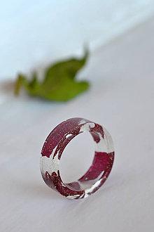 Prstene - Prsteň Ruža v zlate (2374 A) - 9220877_