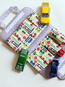 Detské tašky - Autíčkovník, žltý (8 autíčiek) - 9221148_