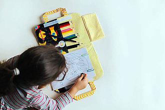 Detské tašky - Veľký pastelkovník