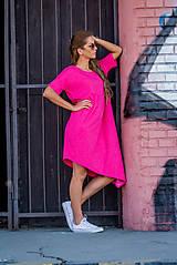 Šaty - Asymetrické letné šaty. - 9220826_
