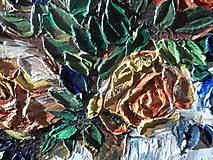 Obrazy - Zátišie s ružami - 9221988_