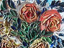 Obrazy - Zátišie s ružami - 9221989_