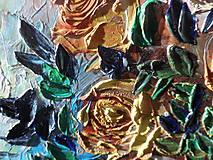 Obrazy - Zátišie s ružami - 9222006_