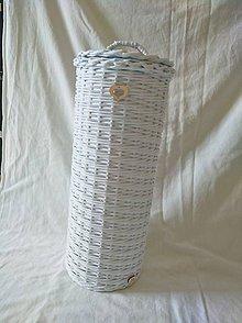 Košíky - Zasobnik na 4 kotuce toaletneho papiera - 9223640_