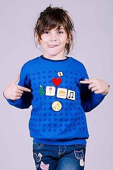 Mikiny - Chateee - interaktívna detská mikina (bez vreciek) - 9220549_