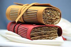 Papiernictvo - Kožený zápisník OROMO A6 - 9219672_