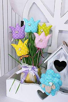 Dekorácie - Jarné tulipániky.. - 9221002_